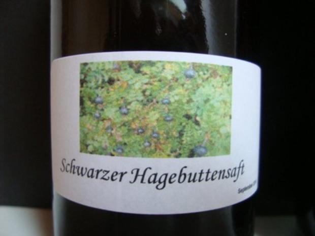 Wintergelee aus Schwarze Hagebutten mit Blutorangen, Zimt,Nelken & Sternanis - Rezept - Bild Nr. 3
