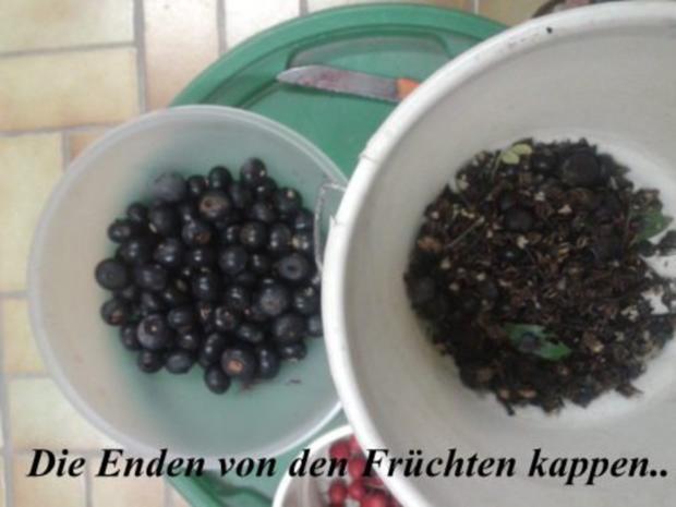 Wintergelee aus Schwarze Hagebutten mit Blutorangen, Zimt,Nelken & Sternanis - Rezept - Bild Nr. 5