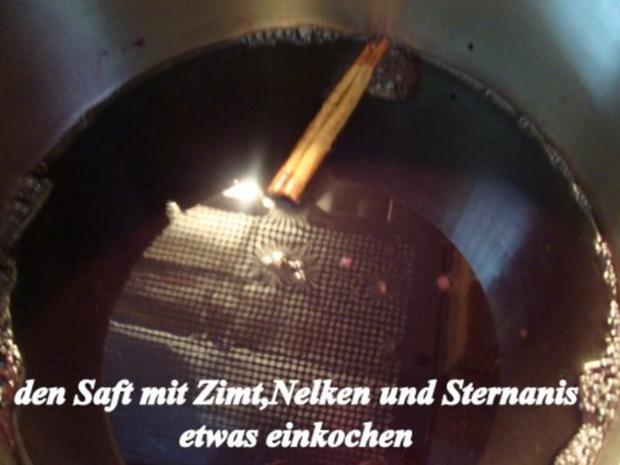 Wintergelee aus Schwarze Hagebutten mit Blutorangen, Zimt,Nelken & Sternanis - Rezept - Bild Nr. 9