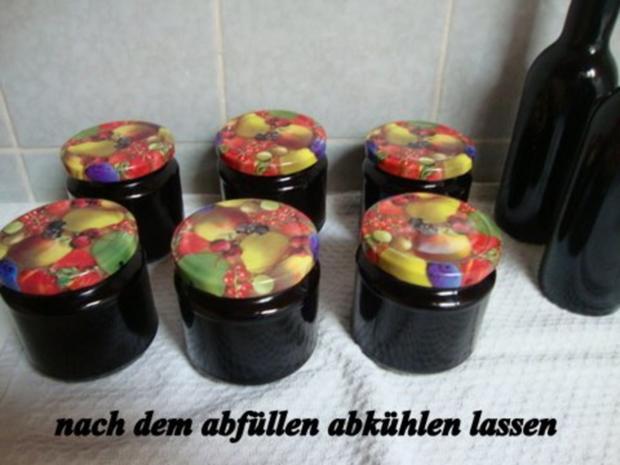 Wintergelee aus Schwarze Hagebutten mit Blutorangen, Zimt,Nelken & Sternanis - Rezept - Bild Nr. 10