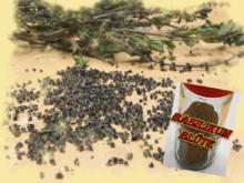 rote Basilikumblüte - Rezept