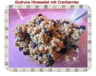 Gesundes: Hirsesalat mit Cranberries - Rezept