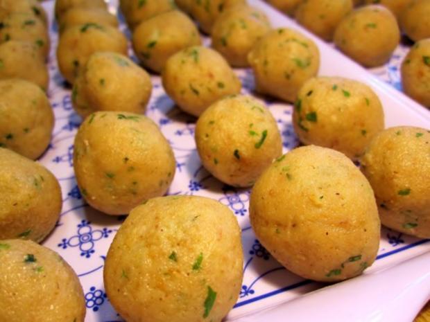 Gemüsesuppe mit Mark-Klößchen - Rezept - Bild Nr. 5