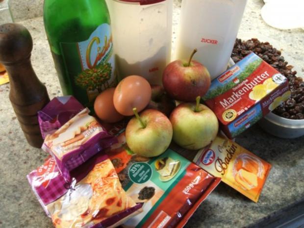 Backen: Bratapfelkuchen - für meine liebe Jana zum Geburtstag ;-))))) - Rezept - Bild Nr. 2