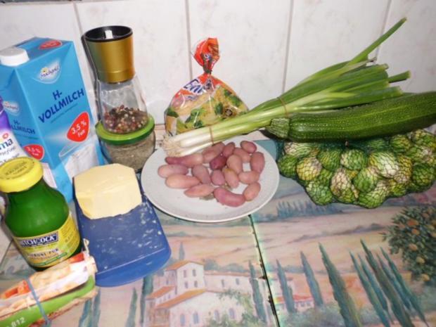 Auflauf: Vier-Gemüse-Auflauf - Rezept - Bild Nr. 2