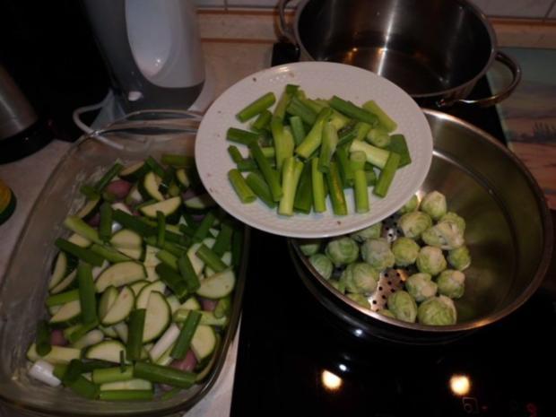 Auflauf: Vier-Gemüse-Auflauf - Rezept - Bild Nr. 3