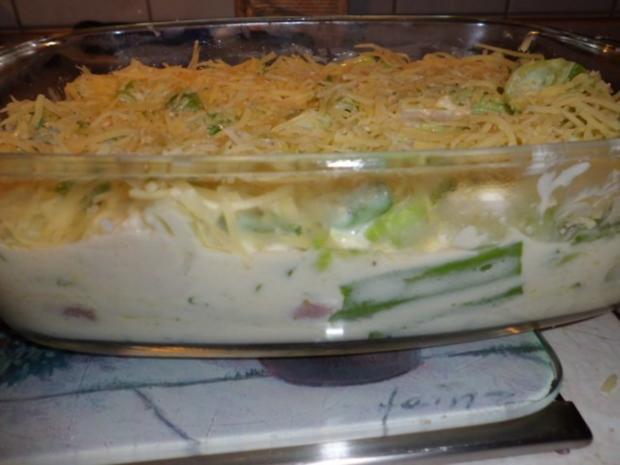 Auflauf: Vier-Gemüse-Auflauf - Rezept - Bild Nr. 5