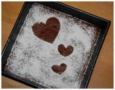 Schoko-Kuchen aus Israel - Rezept