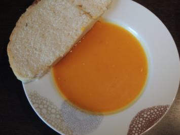 Rezept: schnelle Kürbissuppe