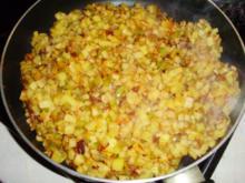 Kartoffel-Kürbis-Pfanne - Rezept