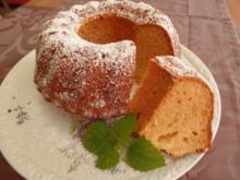 Marzipan -Zitronen -Gugelhupf - Rezept