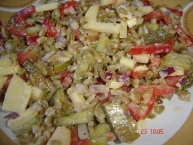 Grünkernsalat - Rezept