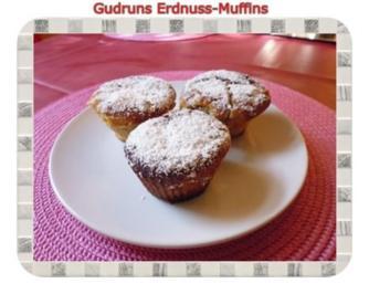 Muffins: Erdnussmuffins - Rezept