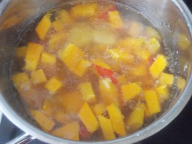 Suppe - Kürbissuppe mit Ananas - Rezept - Bild Nr. 2