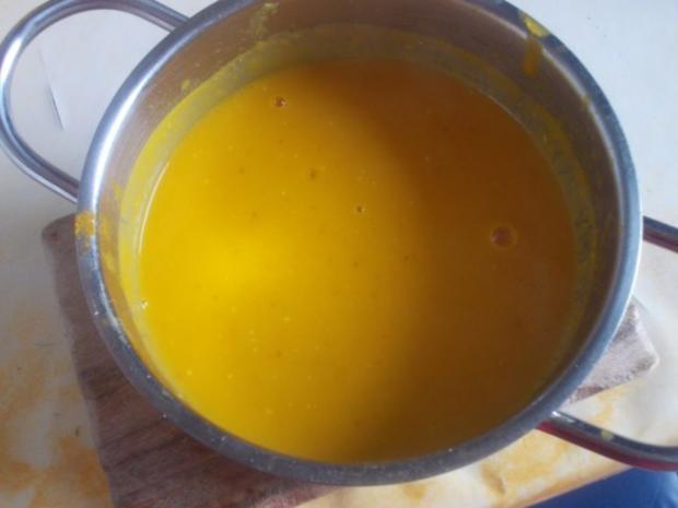 Suppe - Kürbissuppe mit Ananas - Rezept - Bild Nr. 3
