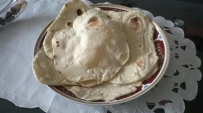Libanesisches Fladenbrot ( Ergeben 10 Stück ) - Rezept