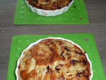 Mini - Zwiebelkuchen zum Feierabend ! - Rezept