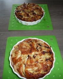 Rezept: Mini - Zwiebelkuchen zum Feierabend !