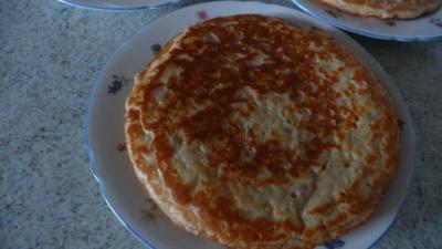 Saftige Apfelpfannkuchen - Rezept