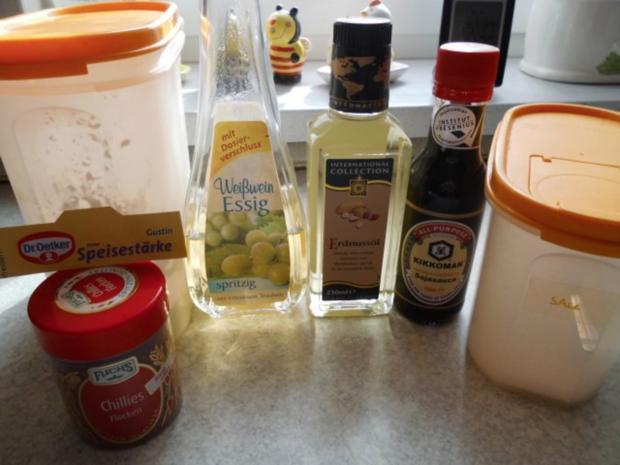 Schweineschnitzelstreifen mit Paprika in Soja-Sauce - Rezept - Bild Nr. 2