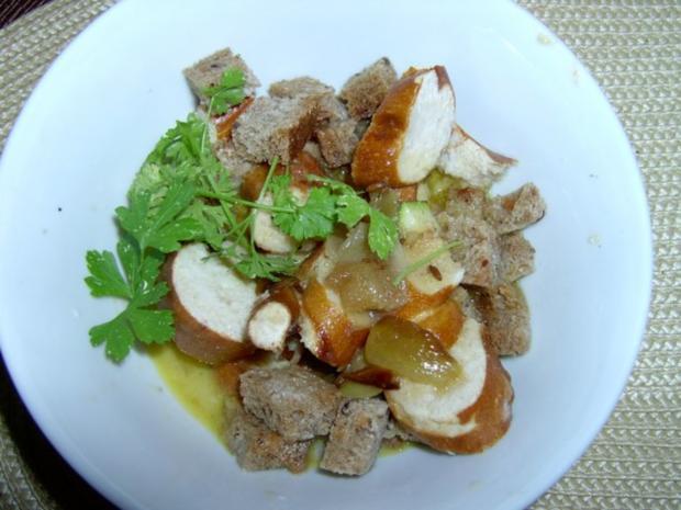 Kartoffelknödel mit Paprika und Schinken - Rezept - Bild Nr. 5