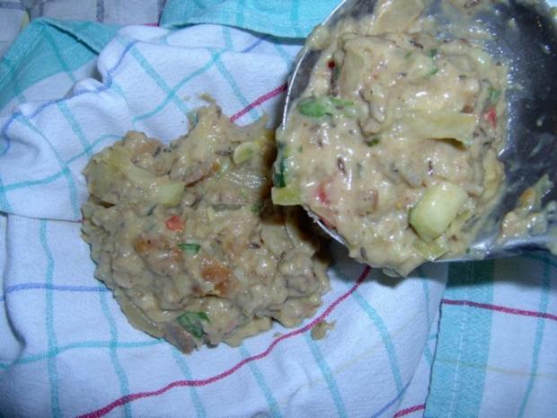 Kartoffelknödel mit Paprika und Schinken - Rezept - Bild Nr. 7