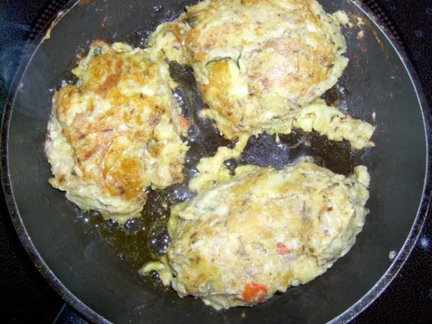 Kartoffelknödel mit Paprika und Schinken - Rezept - Bild Nr. 2
