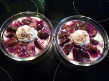 Mascarpone-Joghurtcrème mit Feigen - Rezept