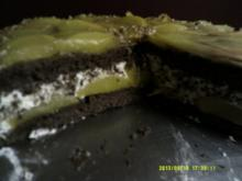 Pfirsich- Schokotorte - Rezept