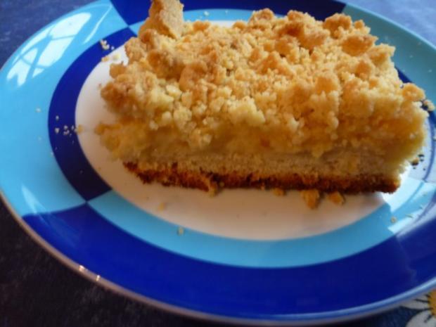 Vanillepudding Kuchen Mit Streuseln Rezept Kochbar De