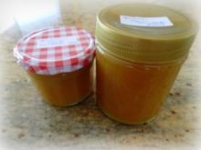 Aprikosen-Ingwer-Marmelade; Zubereitung mit oder ohne Thermomix möglich - Rezept