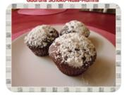 Muffins: Schoko-Nuss-Muffins - Rezept