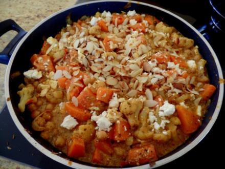 Indisches Süßkartoffel-Korma-Curry - Rezept