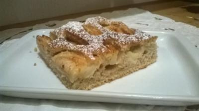 Apfel-Zimt-Kuchen - Rezept