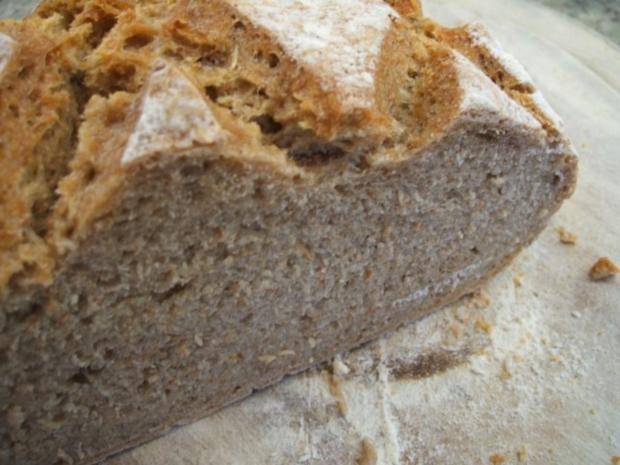 Brot/Brötchen: Dinkel-Apfel-Brot - Rezept