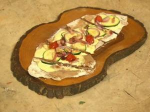Flammkuchen Mediterran (Jan Kralitschka) - Rezept