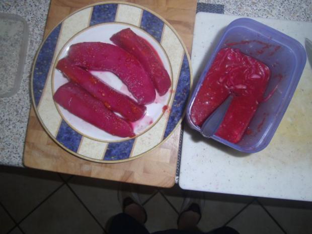 Gekochtes rotes Tintenfischfilet - Rezept - Bild Nr. 2