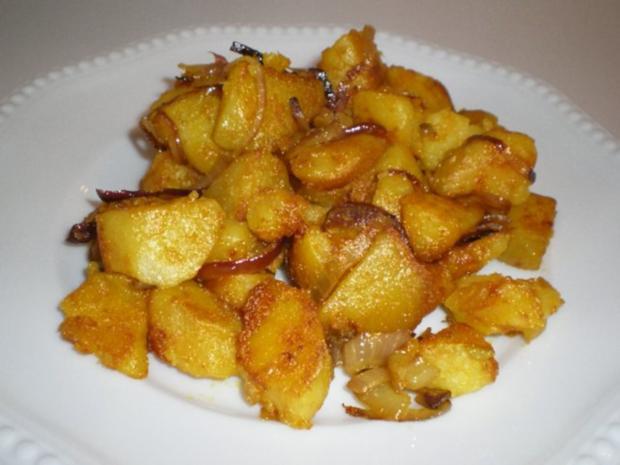 Bratkartoffeln Asiatisch angehaucht - Rezept