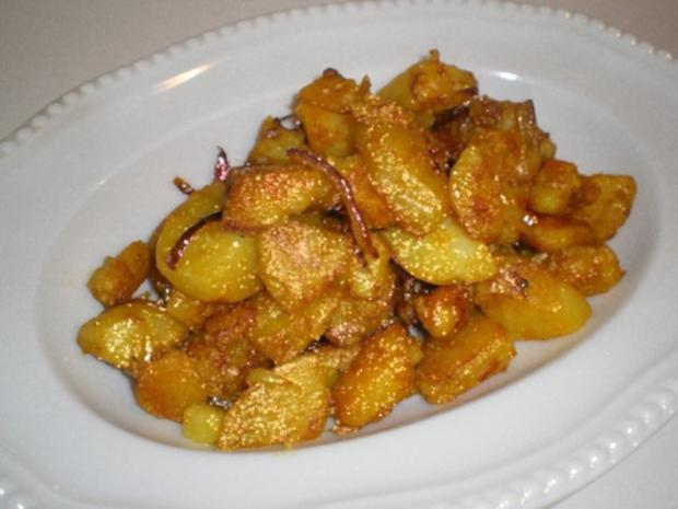 Bratkartoffeln Asiatisch angehaucht - Rezept - Bild Nr. 2