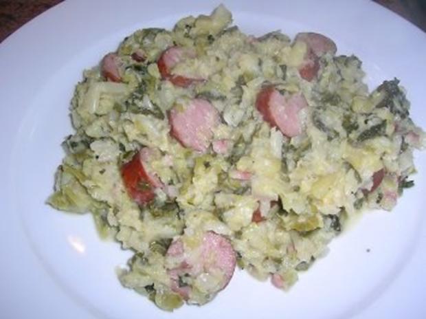 Wirsing untereinander - Schavu (ein kölscher Ausdruck für dieses leckere Gericht) - Rezept - Bild Nr. 2