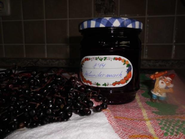 Holundermark>> - Rezept