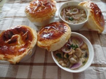 Rezept: Pilzsuppe mit Haube