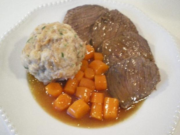 Schneller Sauerbraten mit Karotten-Lauch Soße - Rezept - Bild Nr. 5