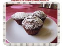 Muffins: Schoko-Kokos-Muffins - Rezept