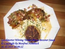 Gemüse – Geschmorter Wirsing Tiroler Art an Bozener Sauce - Rezept