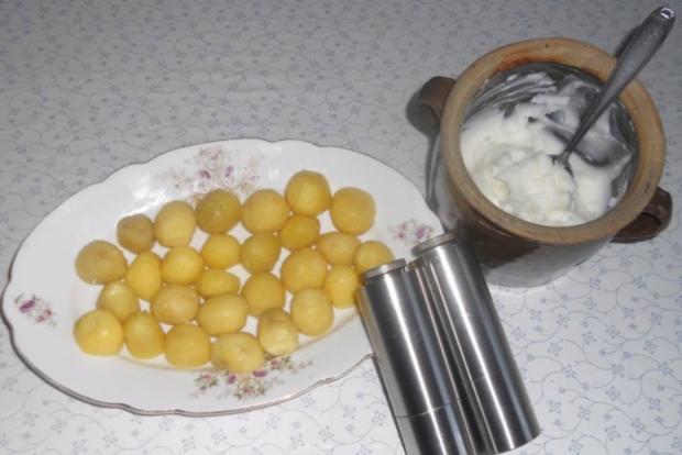 """""""Oma - Friede`s"""" Braunkohl mit kleinen gebratenen Kartoffeln (Rezpt um 1948) - Rezept - Bild Nr. 12"""
