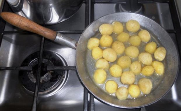 """""""Oma - Friede`s"""" Braunkohl mit kleinen gebratenen Kartoffeln (Rezpt um 1948) - Rezept - Bild Nr. 14"""