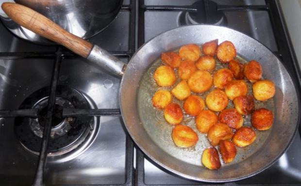 """""""Oma - Friede`s"""" Braunkohl mit kleinen gebratenen Kartoffeln (Rezpt um 1948) - Rezept - Bild Nr. 16"""
