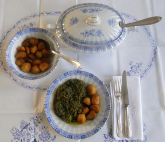 """""""Oma - Friede`s"""" Braunkohl mit kleinen gebratenen Kartoffeln (Rezpt um 1948) - Rezept - Bild Nr. 17"""