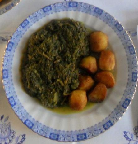 """""""Oma - Friede`s"""" Braunkohl mit kleinen gebratenen Kartoffeln (Rezpt um 1948) - Rezept - Bild Nr. 19"""